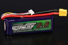 Turnigy Nano-Tech 2200mAh 4S 14.8V 25C 50C Lipo Battery XT60 SUITS 3D Quadcopter