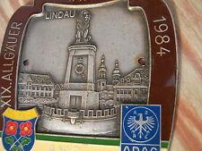 PLACCA ADAC 19. denominazionea patria viaggio 1984 AMC unterthingau Lindau Gemarkt