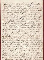 Original DEBTOR'S AGREEMENT - 1857 - JOHN HALE of Boxford, Mass.  30 other sigs.