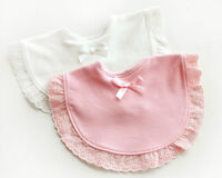 Newborn Toddler Cotton Baby Bibs Boy Girl Saliva Towel Kids Bib Feeding  O