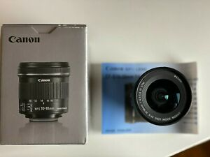 Canon EF-S 10-18 mm F/4.5-5.6 IS STM Lens , Good condition