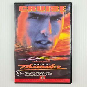Days of Thunder DVD - Tom Cruise - Region 4 - TRACKED POSTAGE