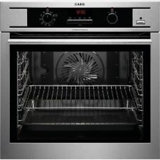 AEG Black Stainless Steel Electric Ovens