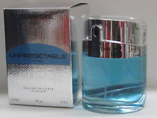 Unpredictable by Glenn Perri For Men 3.4 oz Eau de Toilette Spray In Box Sealed