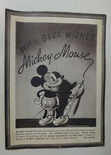 Mickey Mouse Congoleum Rugs Premium Picture Print Walt Disney