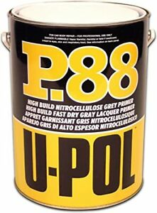 UPOL Car Paint P88 Nitrocellulose Fast Drying High Building Primer P88/1 1Litre