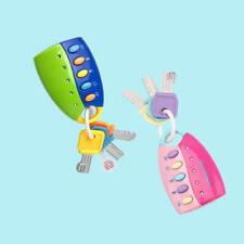 Bunt Musik Spielzeugautos Schlüssel Geformte Krippe Hängen Baby Ausbildung Neu