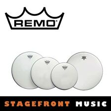"""REMO COATED DRUM HEAD PACK EMPEROR FUSION SKINS 10"""", 12"""", 14"""" + 14"""" PP-1020-BE"""