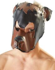 Hundemaske Gothic Karneval Halloween Kostüm Verkleidung Dog Horrormaske