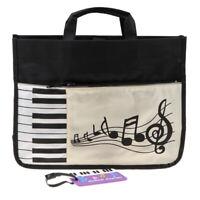 Stück Tasche Klaviertasten/Musik, Wasserdicht, Schultertasche, Handtasche,