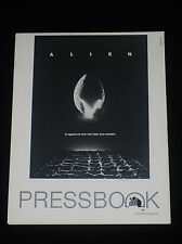 Alien 1979 * Ridley Scott * Sci-Fi Horror * Pressbook * Near Mint Unused * Rare!