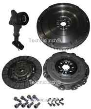 FORD 1.8 TDCI S MAX 6 SPEED DUAL MASS TO SINGLE FLYWHEEL, CLUTCH KIT, CSC, BOLTS