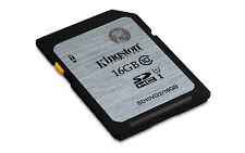 Kingston 16gb 16 GB Sd10vg2 SD HC SDHC Class 10 Uhs-i Memory Card Retail