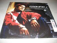 "FRANKIE J OBSESSION (NO ES AMOR) 12"" Single NM Sony 44-70386 2005 PROMO"