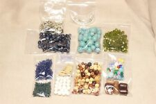 Vintage non-vintage beads glass plastic wood Jewelry Making Craft DIY – Lot 10