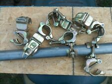 10 Cheeseborough Scaffold  Rigid Fixed Right Angle Clamps Scaffolding 2
