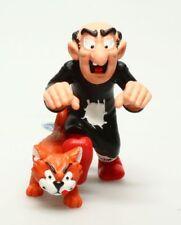 Figurine plastique Schtroumpfs (Les) Gargamel et Azraël