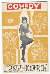OLD PROGRAMME  JC Williamson Comedy Theatre Melbourne 1961 Irma la Douce