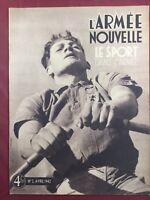 Sport et Collaboration 1942 Vichy Alpinisme Ski Sport Compagnons de France Lyon