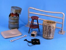 WWE Mattel Jakks Weapons Accessory Lot Ring Bell Guard Rail Pan TV Cuffs Can_s78