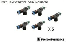 NEW Bosch EV14 550cc Fuel Injectors for: 2009-2010 FORD MK2 FOCUS 2.5T RS ST X5