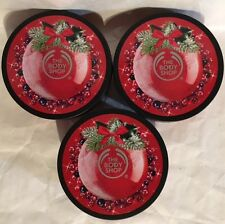 THE BODY SHOP FROSTED BERRIES BODY BUTTER 6.75 OZ NEW X3.