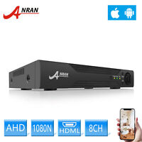 8CH 1080N H.264 5in1 AHD DVR CCTV Video Recorder For Security Camera System P2P
