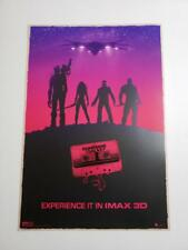 Guardians Galaxy (2014) 13 x 19 Original Theactrical IMAX Poster (Cassete)