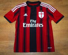 adidas AC Milan 2014/2015 home shirt (For age 11/12)