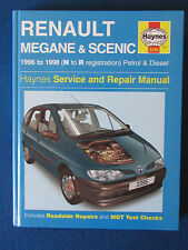 Haynes Manutenzione E Riparazione Manuale-RENAULT-Megane & Scenic - 1996-1998 - N A R