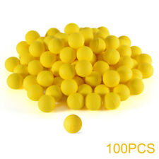100x Round Refill Compatible Toy Balls for Nerf Rival Zeus Apollo Blaster TH589