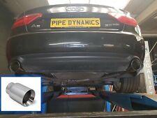 AUDI A5 QUATTRO Coupe/Cabrio 3.0 TDi V6 - Back Box Deletes exhaust PIPE DYNAMICS