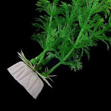 Green Artificial Grass Plastic Water Plant For Fish Tank Aquarium Decor 30cm BOS