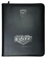 NRL 2018 RUGBY LEAGUE ELITE Trading Cards Album 25 Pages Free Postage