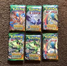 Pokemon XY Roaring Skies Booster Pack Lot of 6 Mega Rayquaza, Shaymin Full Art?!