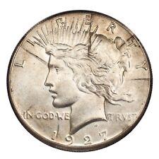1927 Argento Pace Dollaro (About Fior di Conio, Au Condizioni)