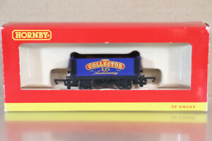 HORNBY R6608 BLUE ROADSHOW 2012 15th ANNIVERSARY 6 PLANK WAGON MINT BOXED nz