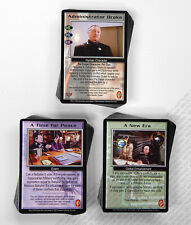 Babylon 5 CCG Psi-Corps Complete Set 50 Uncommon 50 Common 46 Fixed Cards Mint
