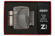 BRIQUET ZIPPO ESSENCE NEUF - LOUP HURLANT - Armor 360° Multicut Engraving , LUNE