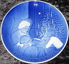1978 BING & GRONDAHL / ROYAL COPENHAGEN PIATTO DI NATALE TOP PRIMA SCELTA