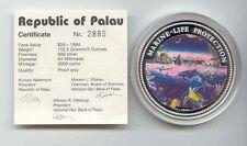 20$ Farbmünze Palau - Marine Life Protection 1994