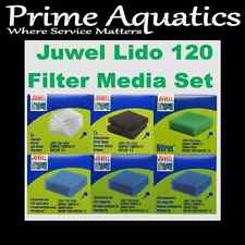 JUWEL LIDO 120 COMPLETE FILTER MEDIA SET  NEW BOXED