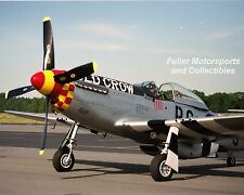 OLD CROW P-51 MUSTANG WWII 357TH FG 8X10 PHOTO US AIR FORCE FIGHTER AIRCRAFT