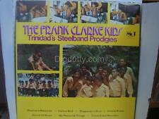 The Frank Clarke Kids TRINIDAD'S STEELBAND PRODIGIES - Vinyl LP Autograph    NM