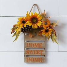 Sunflower HOME SWEET HOME Wall Sign