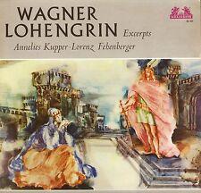 89 654 KUPPER/FEHENBERGER wagner lohengrin excerpts uk heliodor LP PS EX/EX