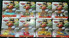 DISNEY PIXAR CARS TARGET EXCLUSIVE FAN FAVORITES 8 CAR COMPLETE SET HTF! NEW!