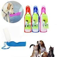 Portable Pet Dog Waterer Travel Drinking Water Bottle Outdoor Feeding Bottle