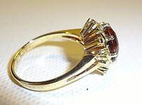 Wunderschöner Ring 585 14 Karat Gelbgold mit einem Topas Imperial, Gewicht 6,6 G