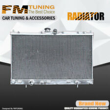 Lancer Radiator For Mitsubishi L4 2.0L 2.4L 2002-2007 2Row Aluminum 2448